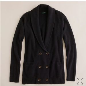 J Crew Dream Double-Breasted Cardigan